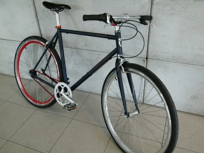 Fixie Urban Bike Shimano Nexus Retro Cromo