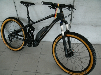 E-MTB -SAISON SALE- 27,5 Plus Fully black  Shimano Steps 8000